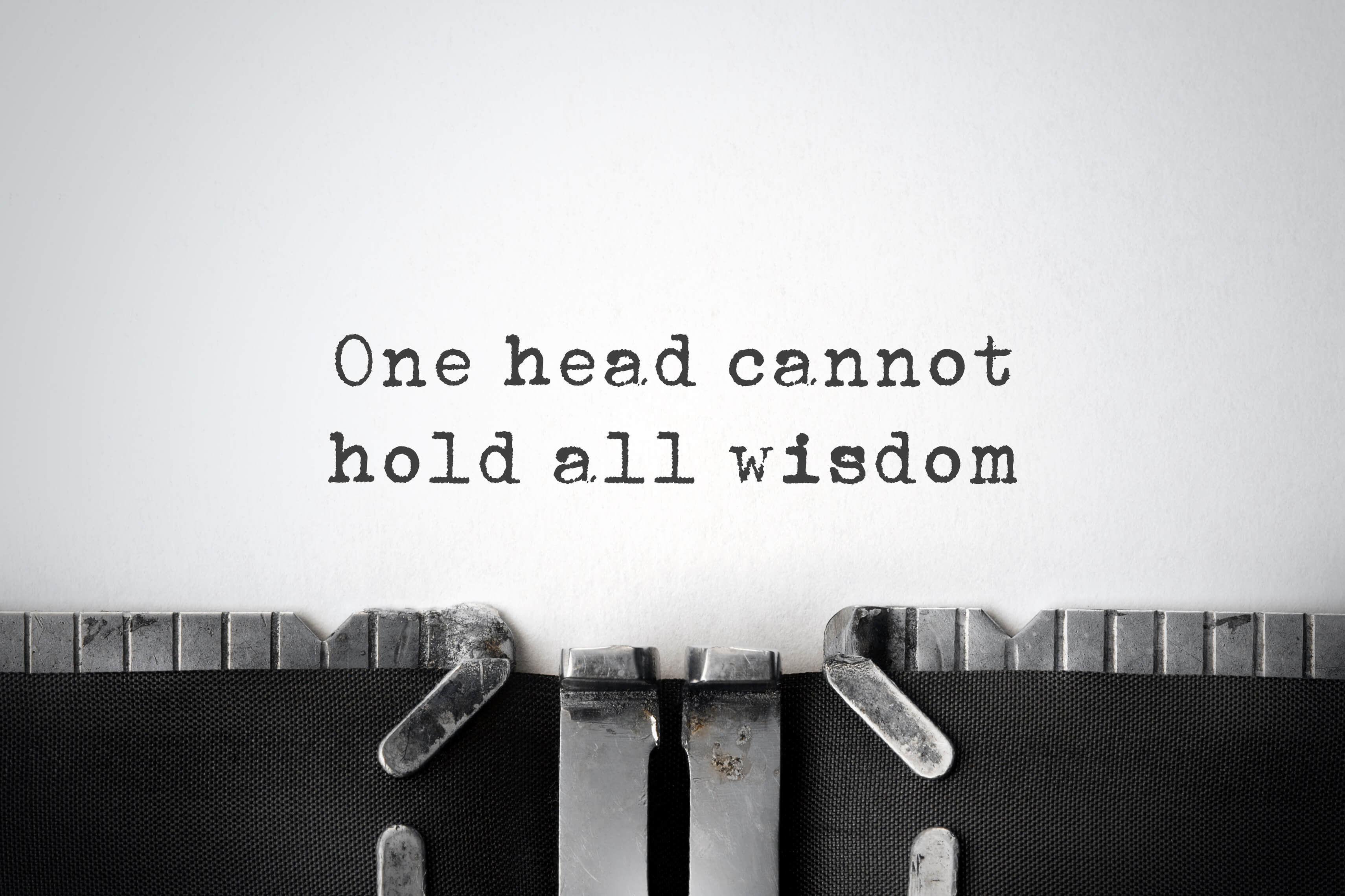 Wisdom quote (Foto by markrubens - Fotolia.com)