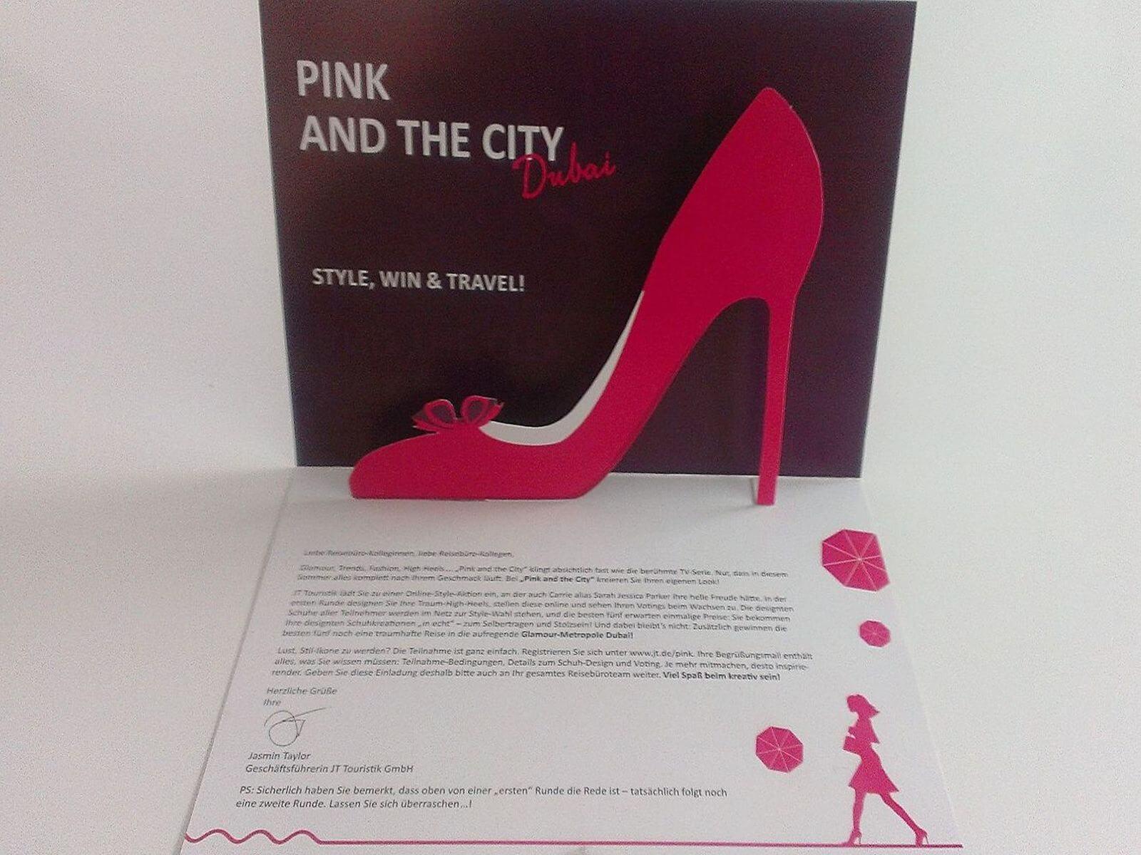 Pink and the City Dubai - JT Touristik