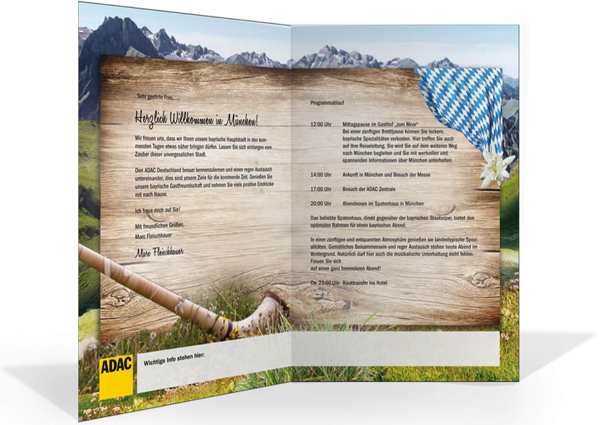 Gardasee-Dialog München - Einladung - ADAC