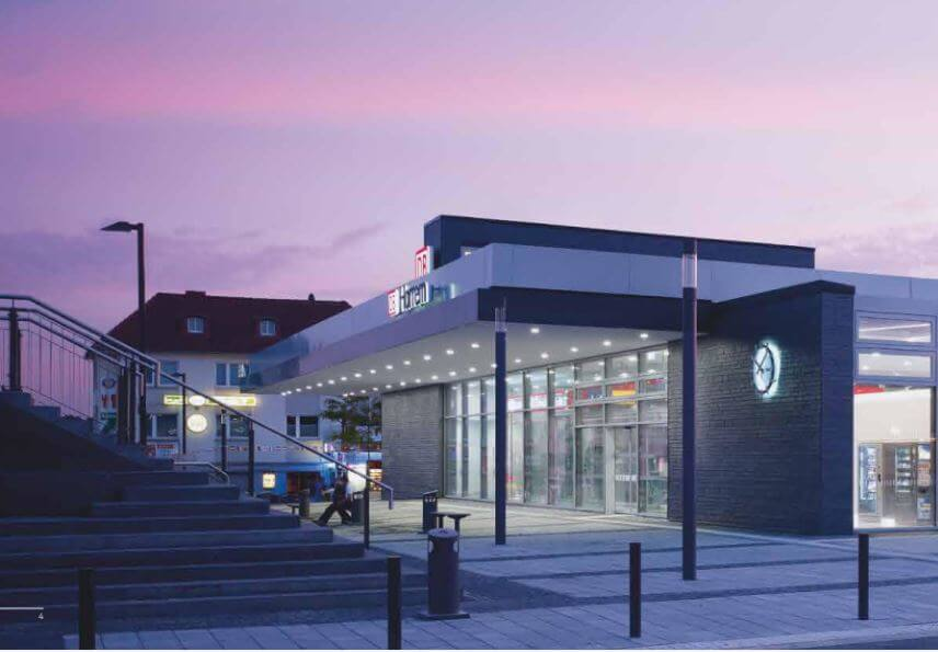 Grüner Bahnhof - Broschüre der DB Station & Service