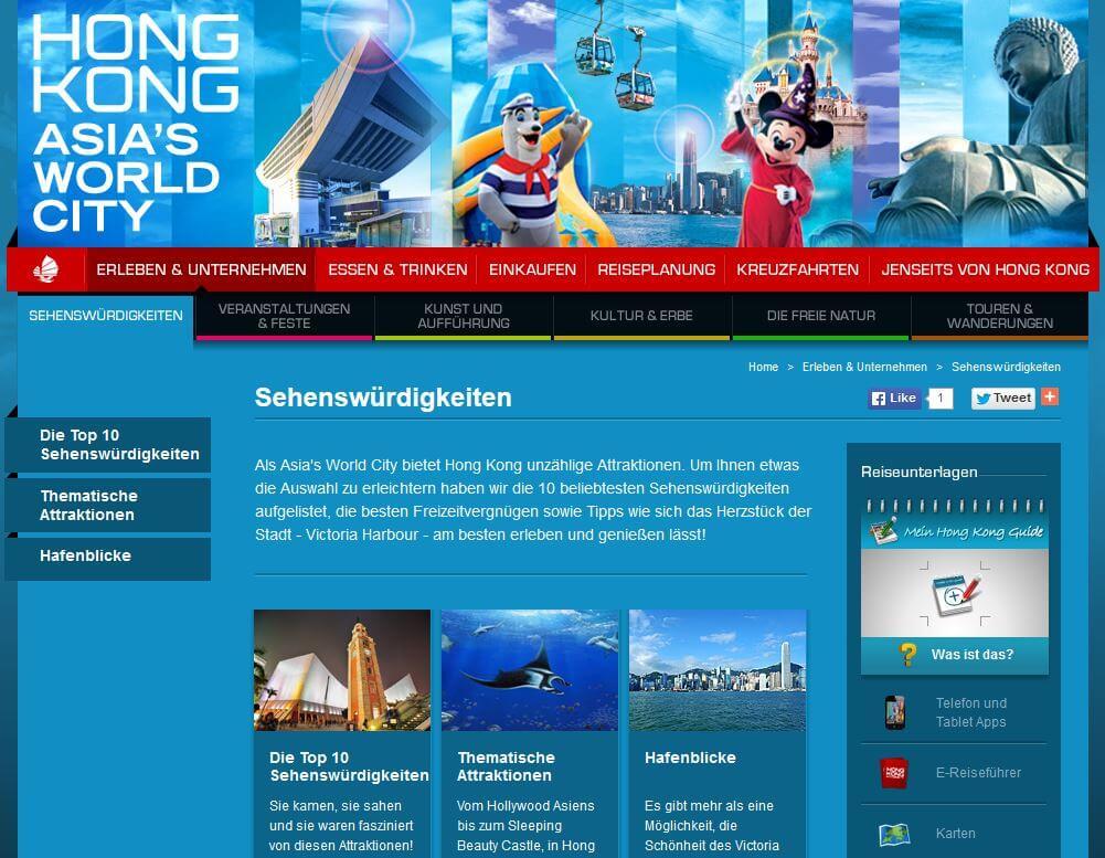 Hong Kong Keywordsanalyse und SEO
