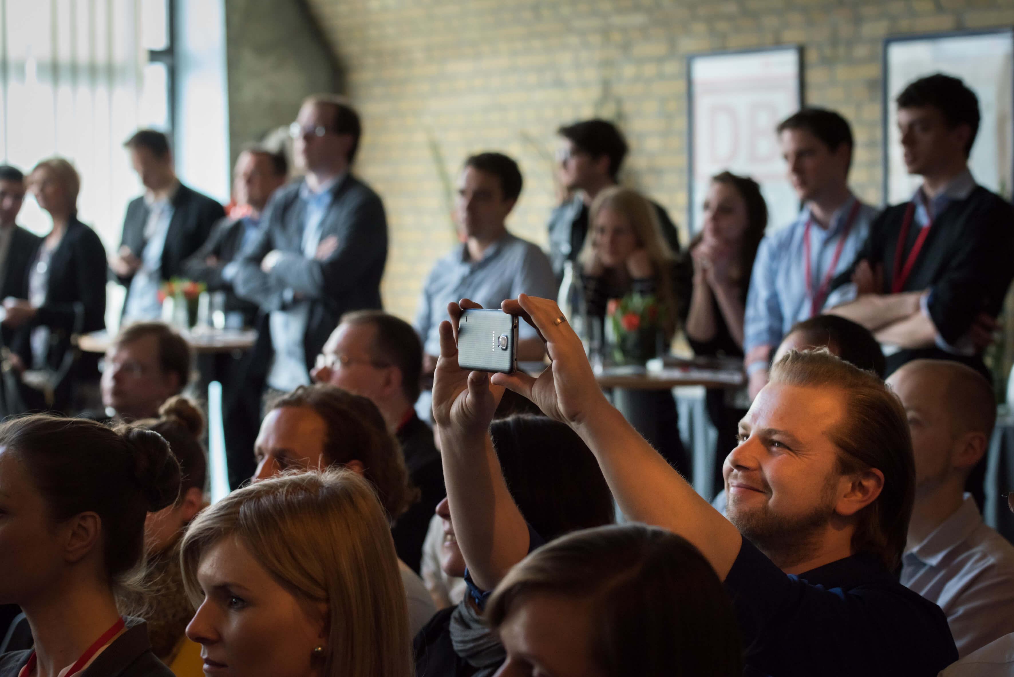 Veranstaltung DB Startup Pitch 2015 Next Station
