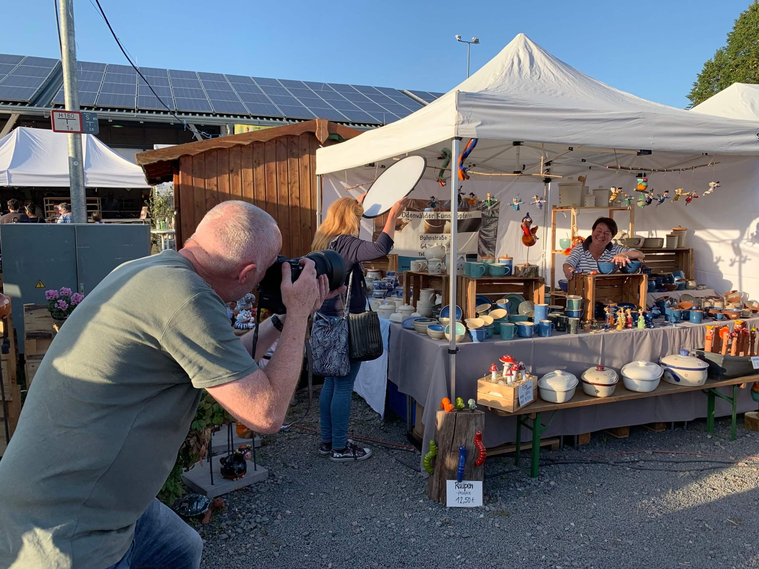 Content Produktion - Fotoshooting und Videodreh für Hessen Tourismus durch die Marketingagentur justZARGEScommunicate