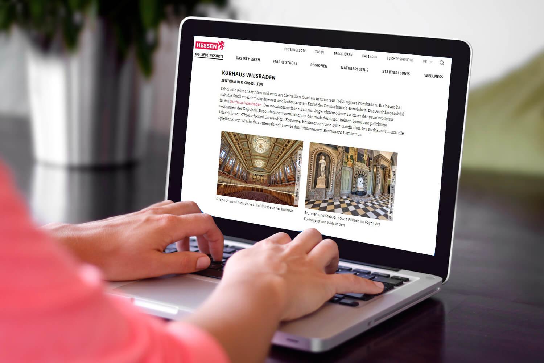 Fotoshooting und Videodreh für Hessen Tourismus durch die Marketingagentur justZARGEScommunicate