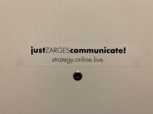 Teammeeting in München - Willkommen bei justZARGEScommunicate