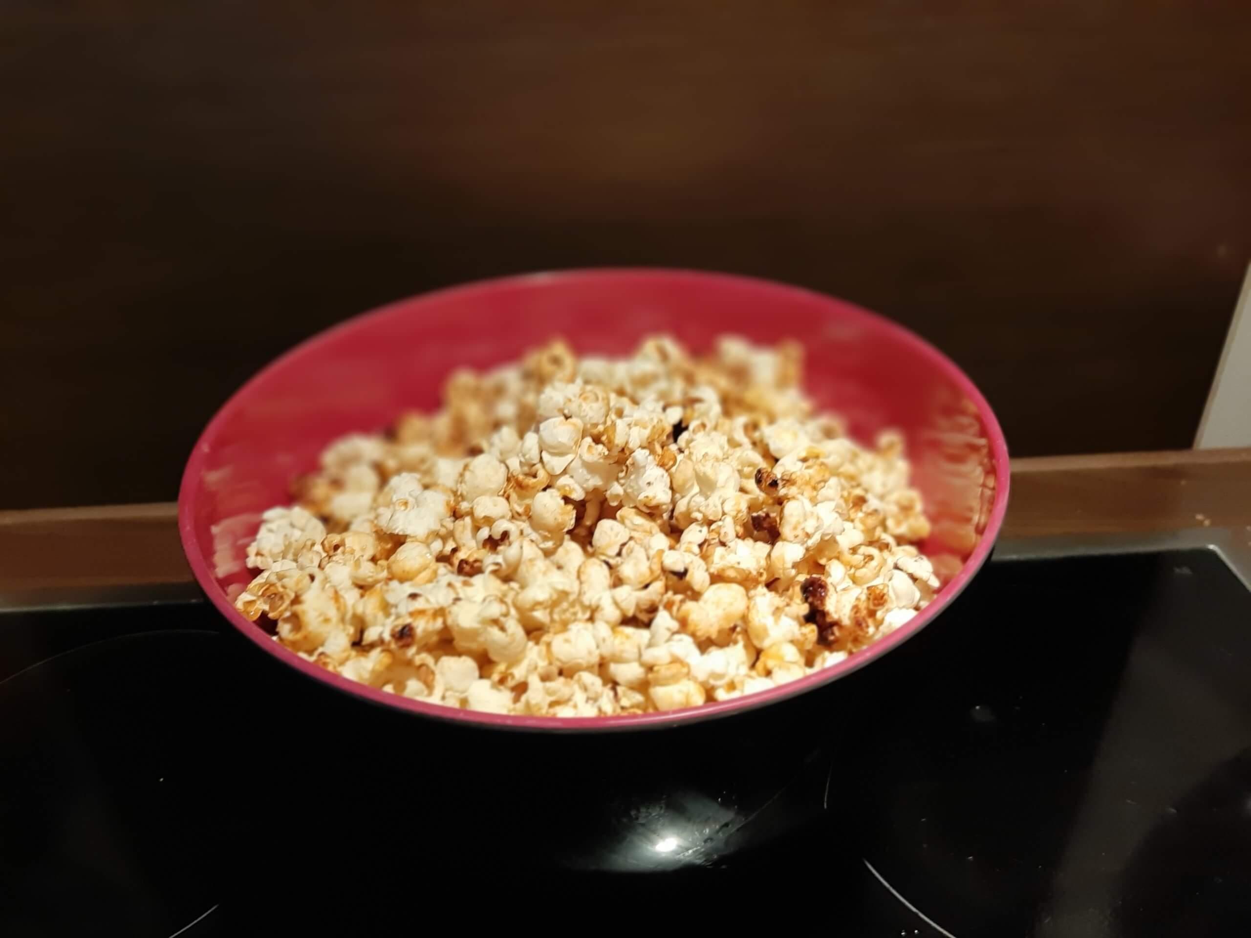 Perfektes Popcorn für den verdienten Feierabend - Tipps von Sara Käfer von justZARGEScommunicate