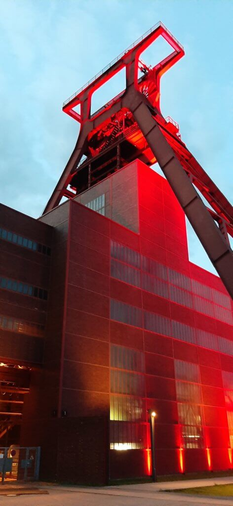 Night of Light - Hilferuf aus der Eventbranche - justZARGEScommunicate! bei Zeche Zollverein in Essen