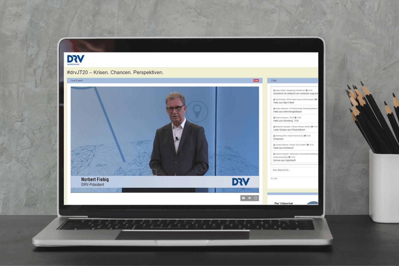 DRV Jahrestagung 2020: Begrüßung durch Norbert Fiebig